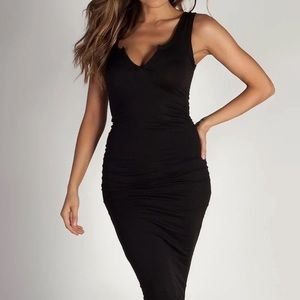 Little black midi dress bodycon